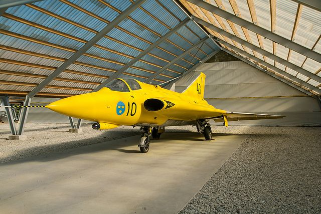 Saab J35 Draken Fighter Aircraft Fighter Jets Swedish Air Force