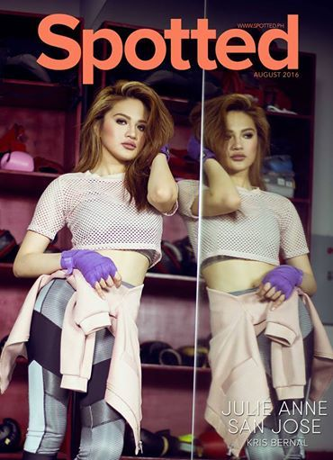Julie Anne San Jose is 'bolder, better, stronger' on latest Spotted magazine…