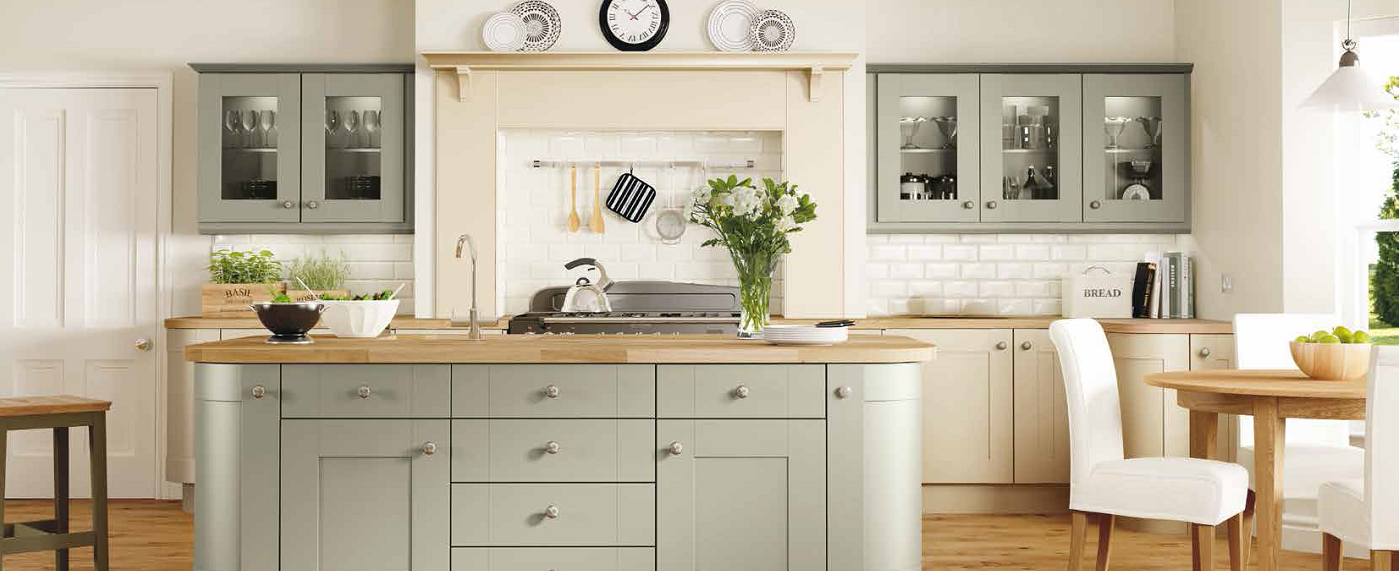 The Longford Shaker Kitchen Brings Gentle Curves And Graceful Sweeps To  Create A Spacious, Luxurious Feel And Is Available In 3 Different Colours  With A ...