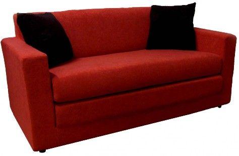 Red Loveseat Sleeper The Ring Of Fire Loveseat Sleeper