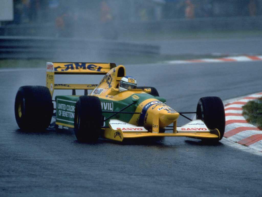 1992 GP Belgii (Spa-Francorchamps) Benetton B192 - Ford (Michael Schumacher)