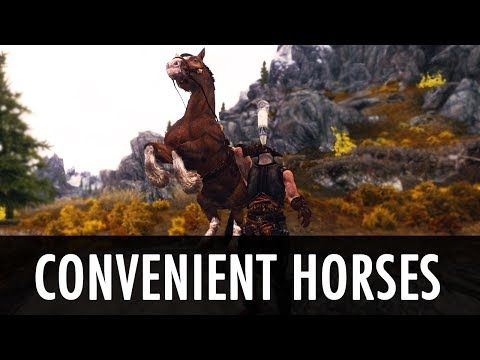 Horses for followers with scripted follower AI behavior and