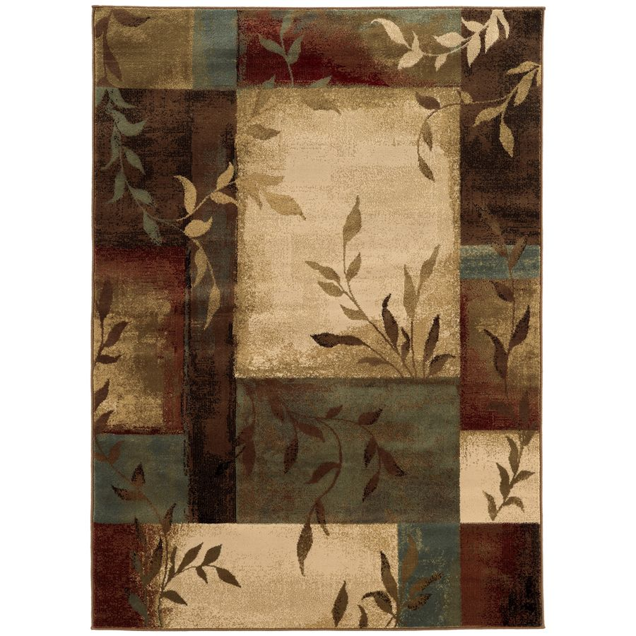 Shop Oriental Weavers Of America Harper Rectangular Brown