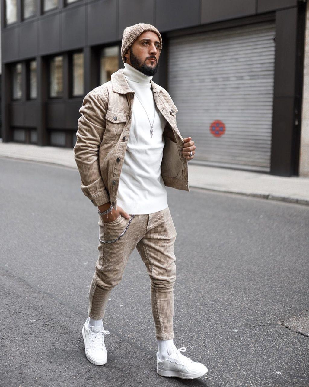 Tendências de moda masculina outono-inverno 2020