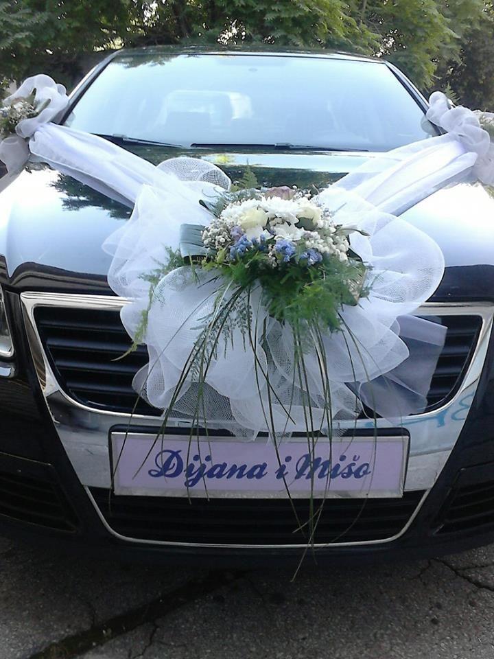 Wedding car decoration weddings car decor pinterest carros wedding car decoration junglespirit Gallery