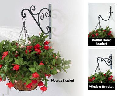 Hanging Basket Brackets For Fence Posts