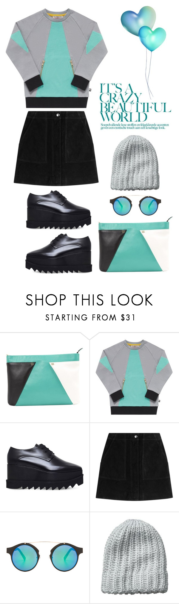 """""""Beautiful World"""" by youaresofashion ❤ liked on Polyvore featuring Roland Mouret, Mini Street Style, STELLA McCARTNEY, rag & bone, Spitfire and Vincent Pradier"""