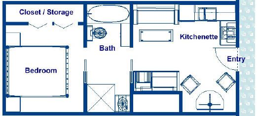 Stateroom Floor Plans, 300 Sq