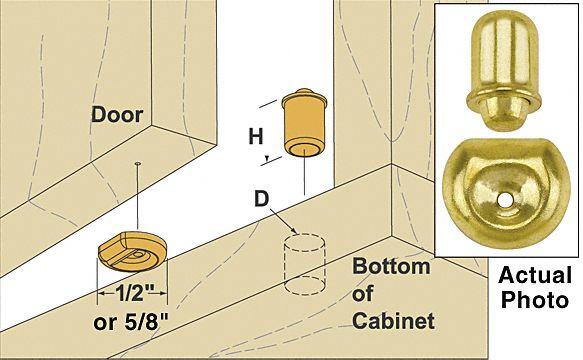 Woodworker Com Cabinet Door Bullet Catch Cabinet Doors Doors Cabinet