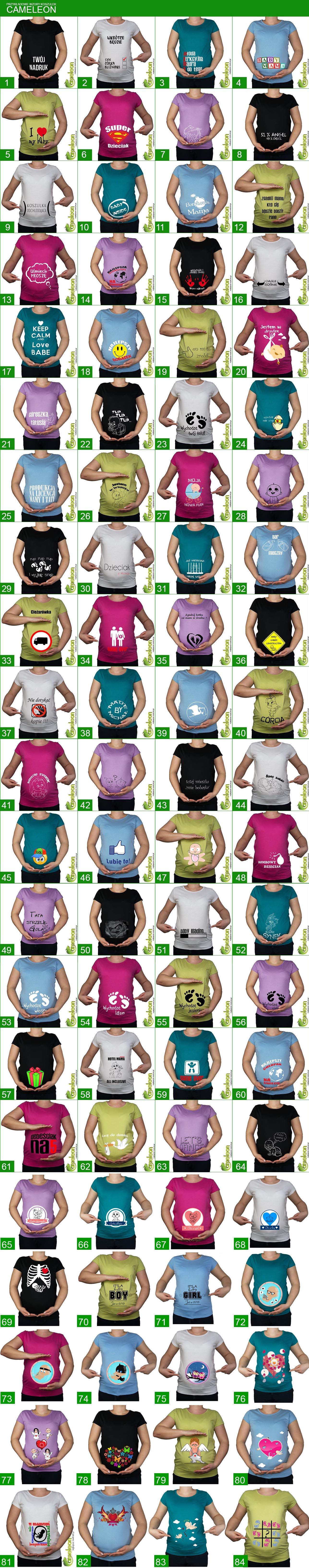 Koszulka Mamuski Ciazowa Z Dowolnym Nadrukiem Xl Koszulki