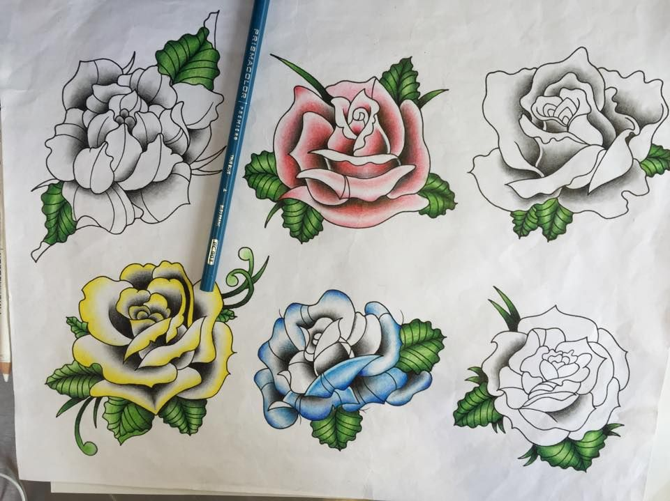 Did you know that rose tattoos are the most popular and