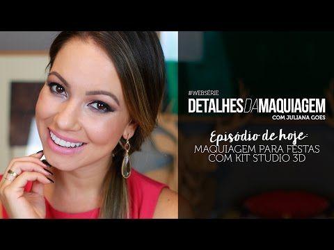 Assista esta dica sobre MAQUIAGEM PARA FESTAS COM KIT STUDIO 3D e muitas outras dicas de maquiagem no nosso vlog Dicas de Maquiagem.