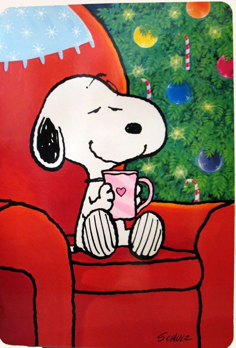 GIANT Laminated Snoopy Christmas Card: Snoopn4pnuts.com | snoopy ...