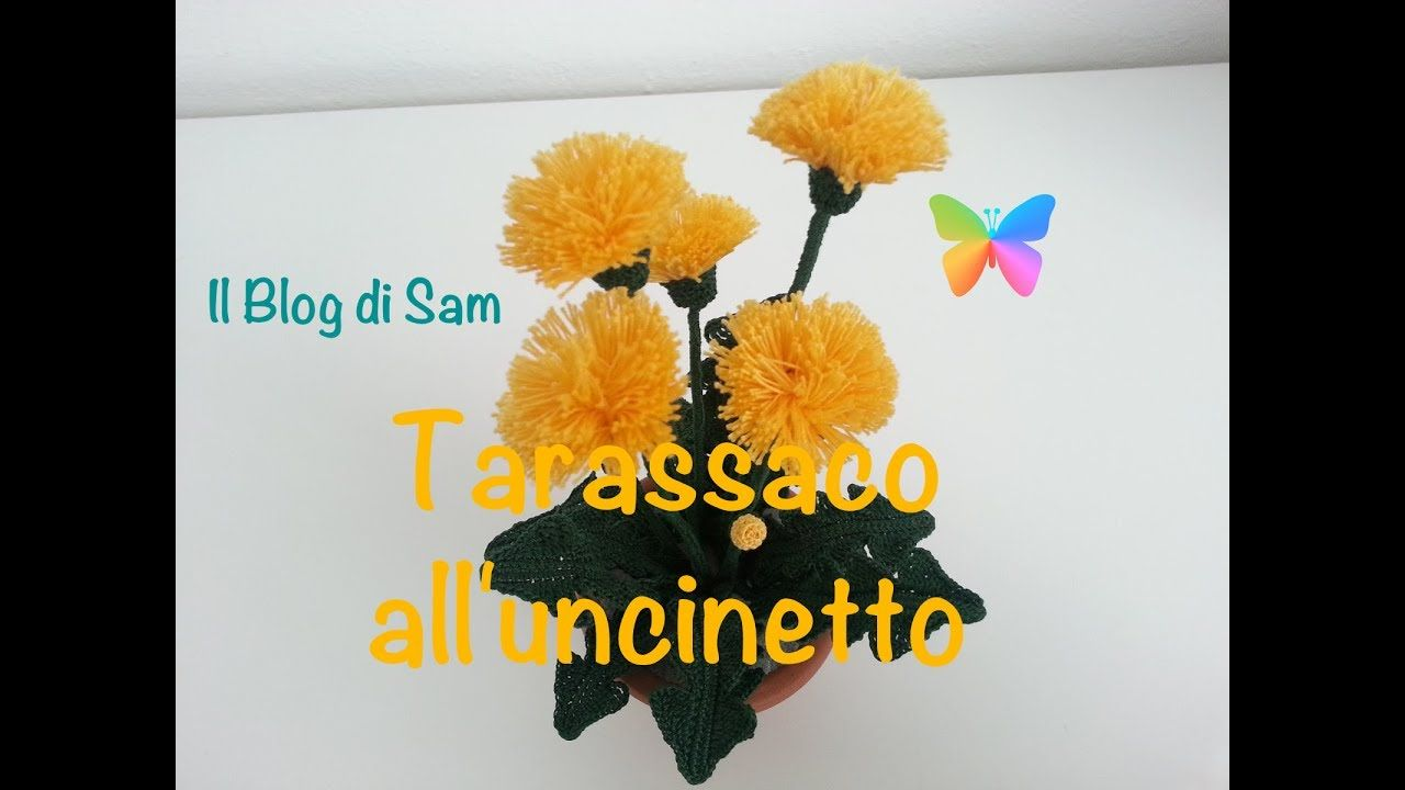 Spiegazione del Tarassaco all\'uncinetto | flores ganchillo ...
