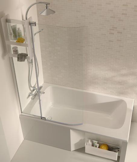 Pin by Anne Richard on salle de bain Pinterest Bathroom tiling - leroy merlin meuble salle de bain neo