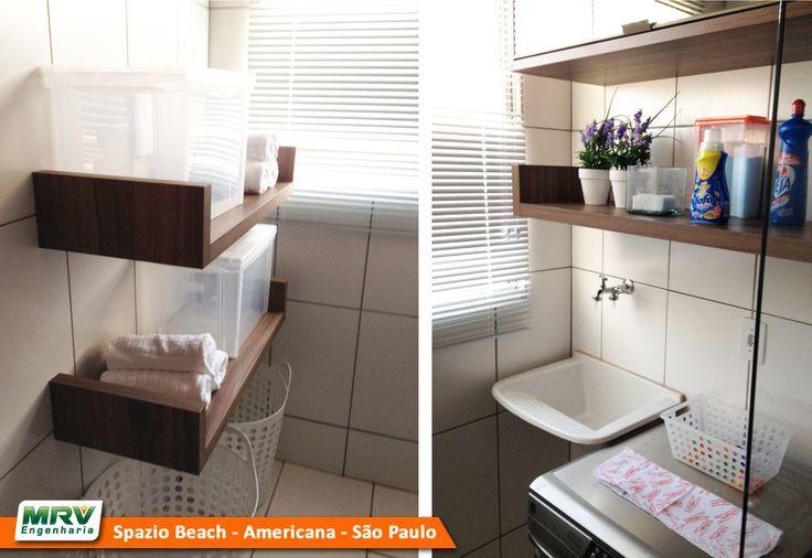 ideias de decoração apartamento MRV 2 quartos  Pesquisa Google  Lavanderias