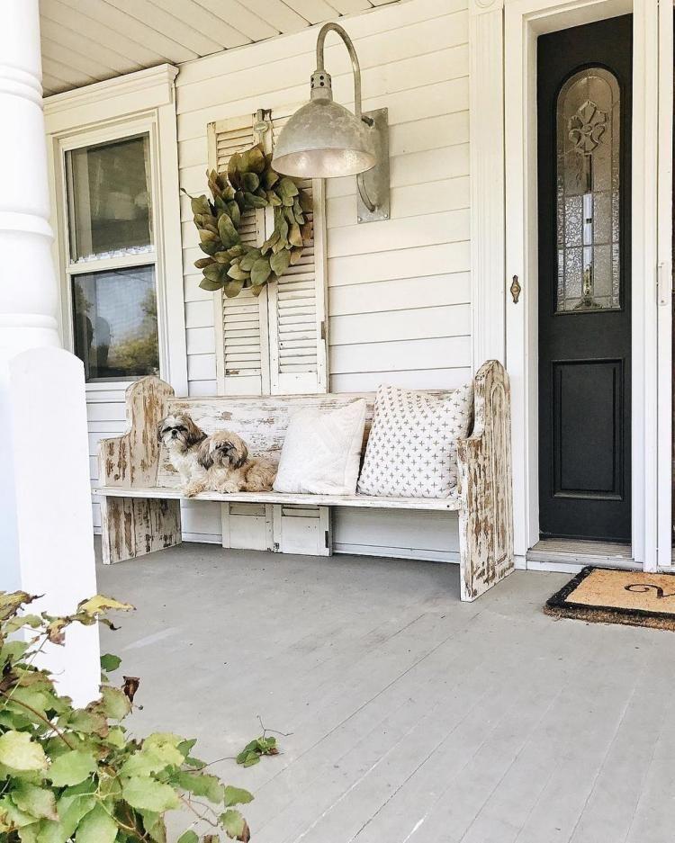 43 rustic farmhouse porch decor ideas home design inspiration rh pinterest com