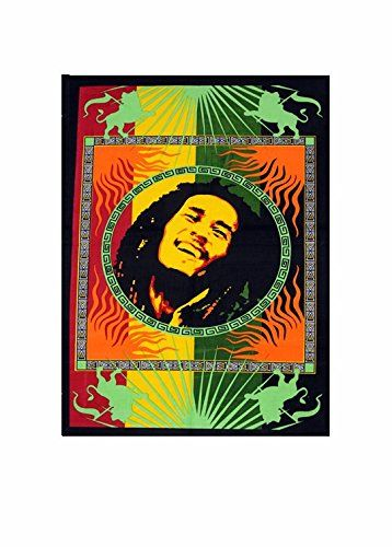 Loi Bob Marley Indian Handmade Bohemian Throw Dorm Art Cotton Wall Poster Check This Awesome Product By Going To The With Images Bob Marley Tapestry Tapestry Dorm Art