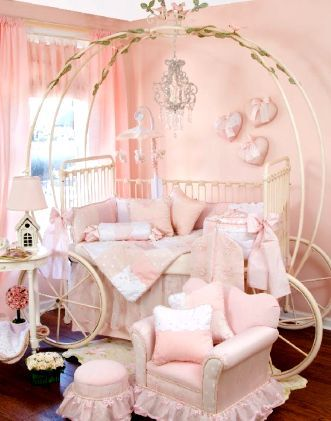 Princess Baby Room Should Have The Crown Above The Bed Region As It Will Be  In The Top With Some Clothes Towards The Baby To Cover Her , We Can Say.