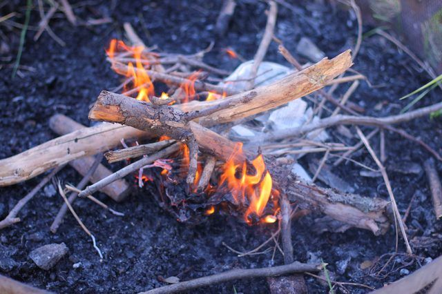 How To Start A Fire In A Fire Pit Hunker Fire Pit Backyard Outdoor Fire Pit Wood Fire Pit