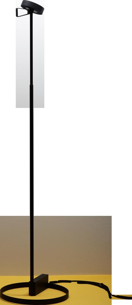 """Lampe01"" in black   lighting . Beleuchtung . luminaires   Design: Sebastian Schoenheit  "