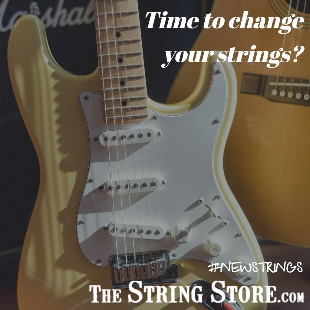 Time to change your strings? .