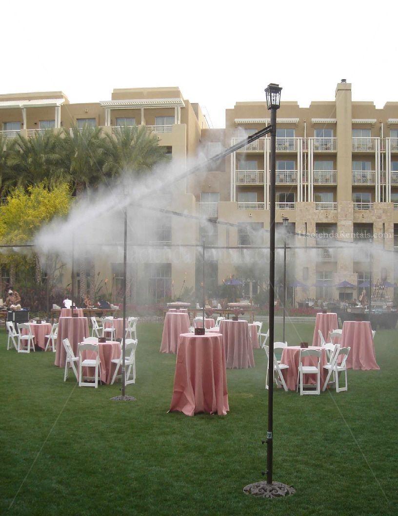 Fog Misting System Misting Backyard Outdoor