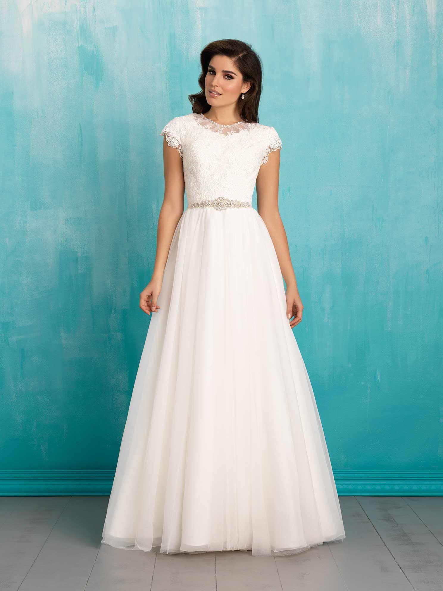 Allure Bridal Modest collection | Modest Wedding Dresses | Pinterest ...