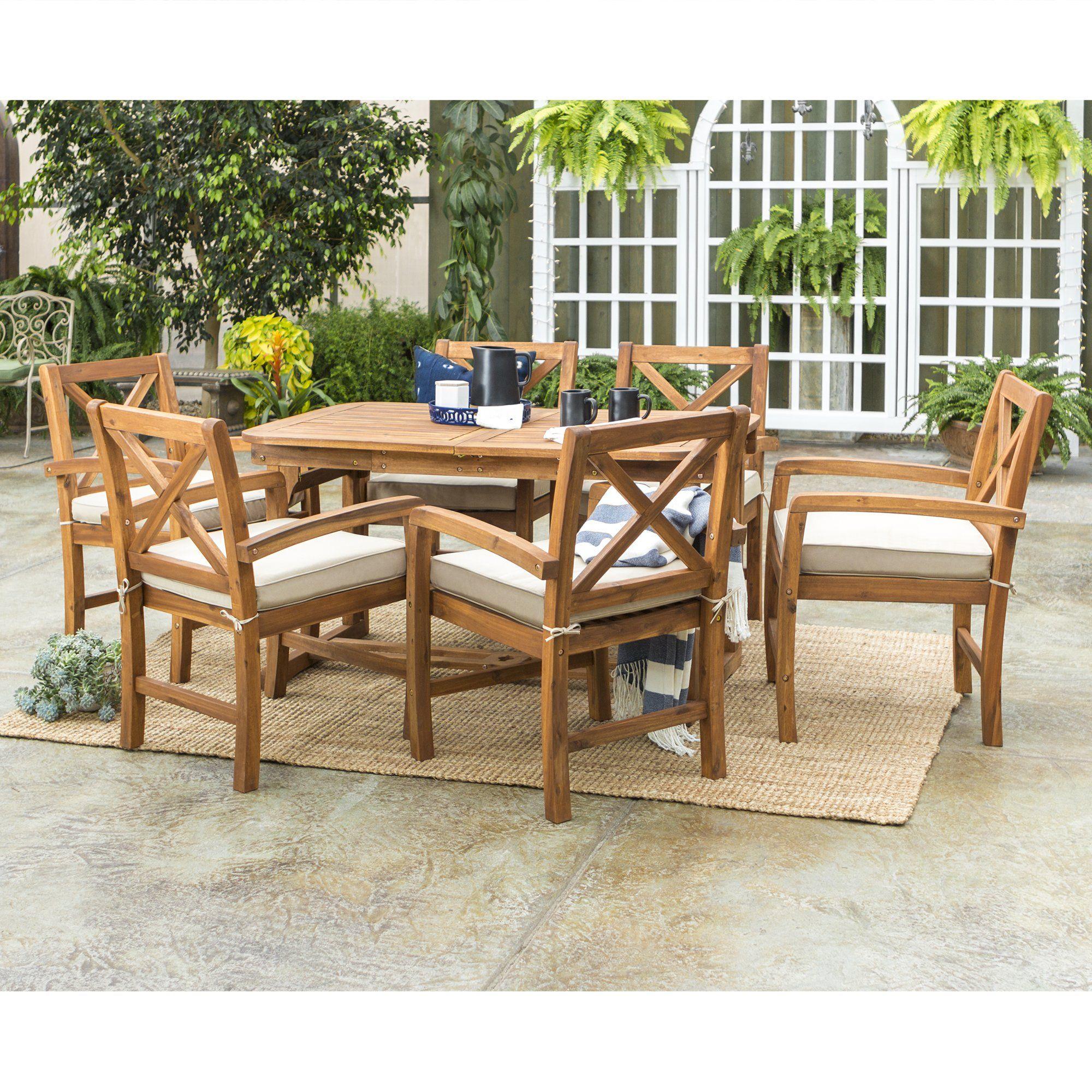 Photo of 7-Piece Crosswinds Outdoor Dining Set