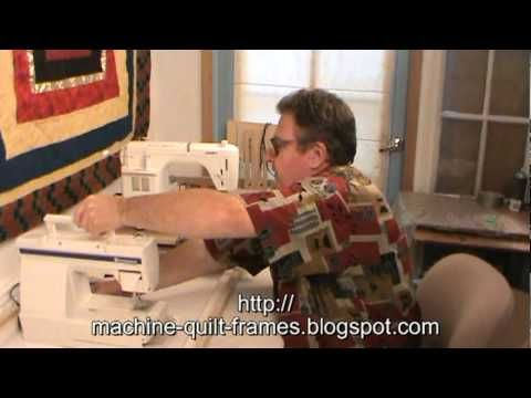 Utilizes your own sewing machine for an affordable version of a ... : affordable long arm quilting machines - Adamdwight.com