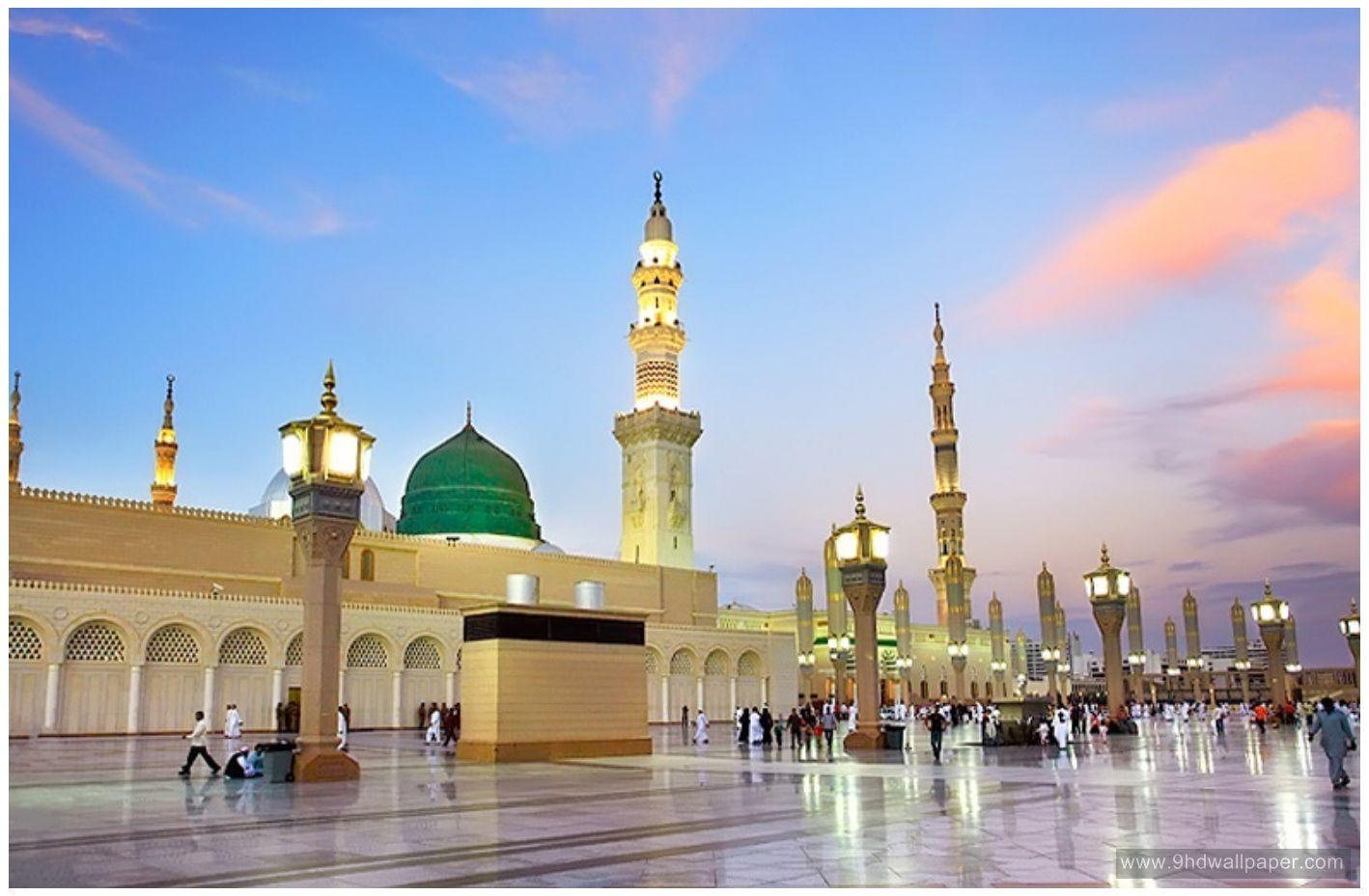Masjid Nabawi Hd Wallpaper Free Download 7 Mesjid Qur An Islam