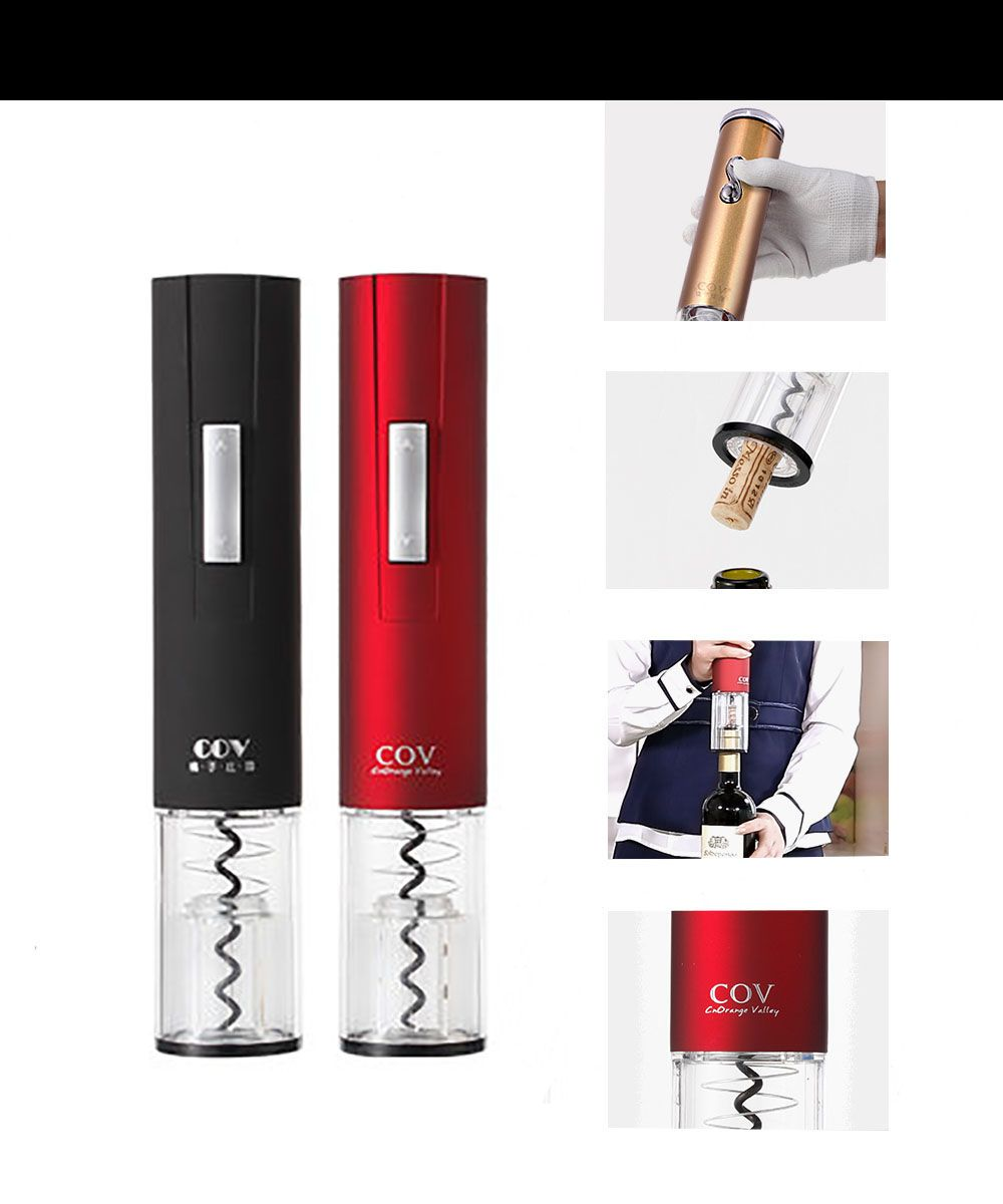 Electric Wine Opener Fashion Grinding Plate No Need Recharging Open The Bottle Stopper Wit Electric Wine Bottle Opener Wine Bottle Opener Electric Wine Opener