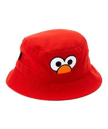 Look what I found on  zulily! Elmo Bucket Hat by Sesame Street  zulilyfinds edf2dfffd921