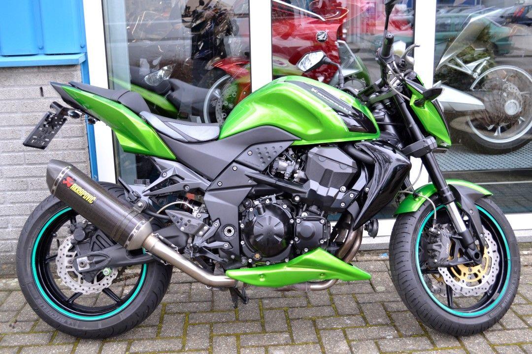 Kawasaki Z750R 2012