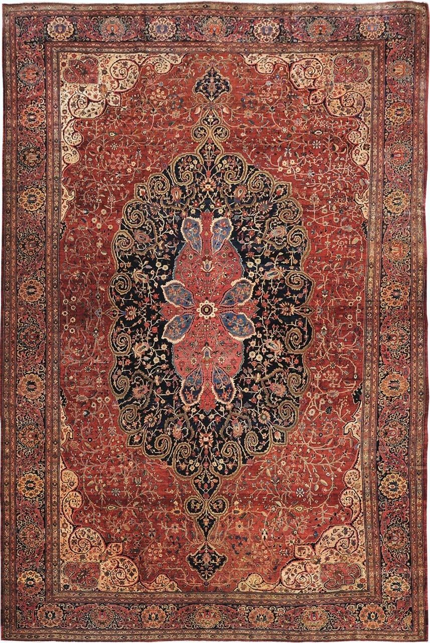 Persian Sarouk Farahan Rug 14 0 X 20 10 J H Minassian Gallery Rugs On Carpet Rugs Antique Persian Carpet