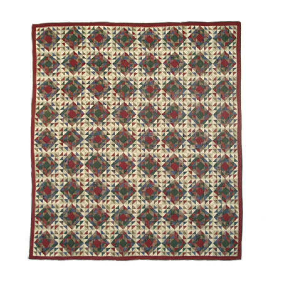 Patch magic amazingly red quilt size full queen qqamrd twin