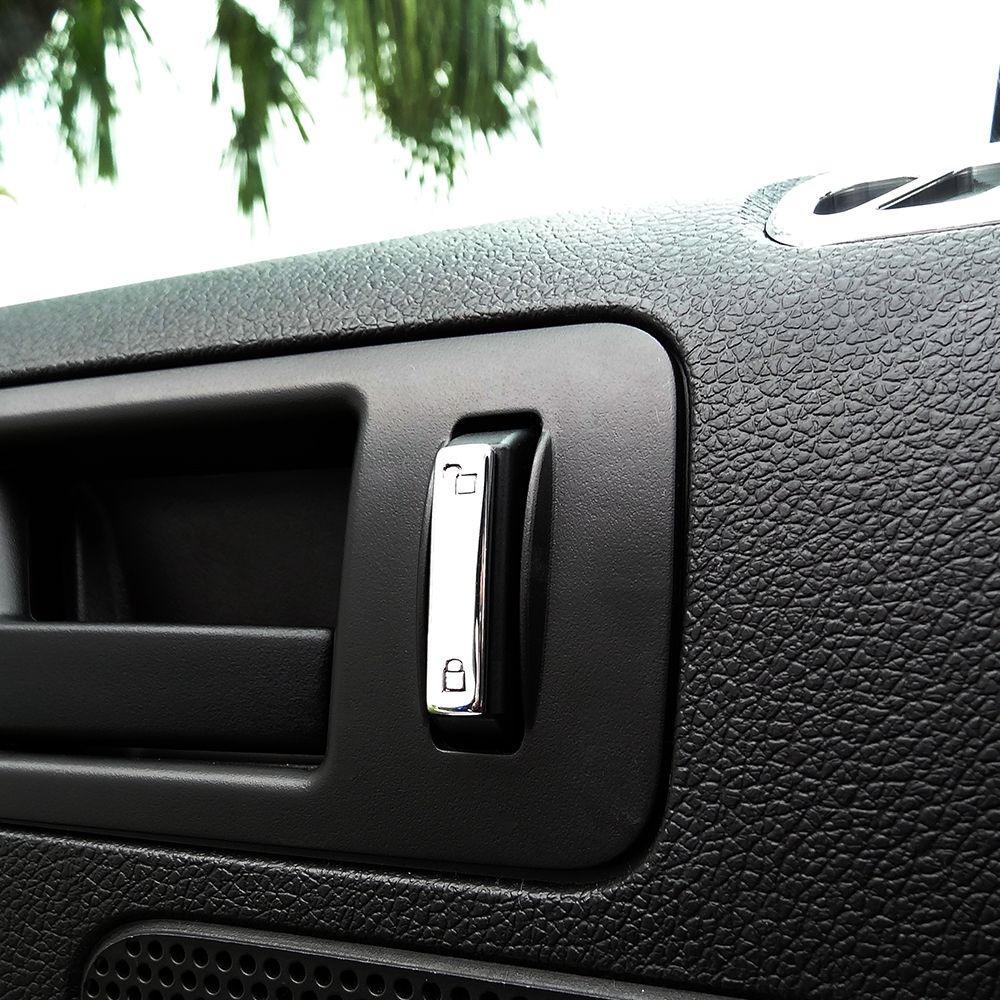 Dress Up The Exterior Of Your Boring Plastic Window Lock And Unlock Switches With Upr S Billet Lock Switch Covers With Cu Ford Mustang Parts Switch Covers Ford
