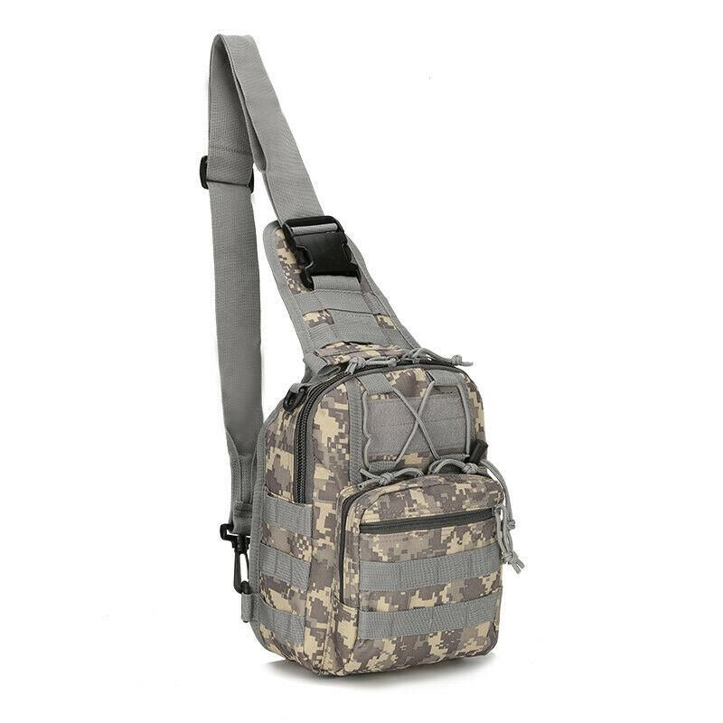 MROYALE™ Military Tactical Army Sling Chest Day Pack Shoulder Backpack - ACU
