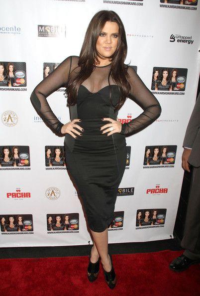 Khloe Kardashian wearing Althea Harper