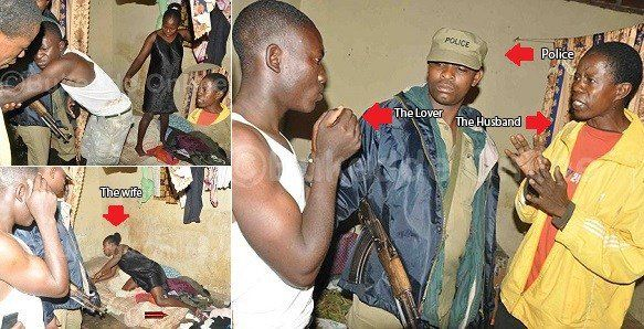 A Kenyan Man Arrested His Wifes Lover After He Stormed Their Home With Security Operatives