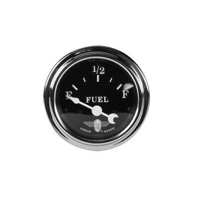 Sponsored Ebay Stewart Warner 82472 Wings Fuel Level Gauge Black