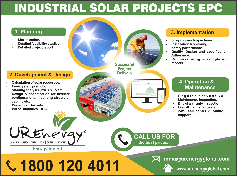 Rooftop Solar Panel Inverters Water Pump Solar Epc Gujarat India U R Energy Solar Water Pump Solar Panel Inverter Renewable Energy Companies