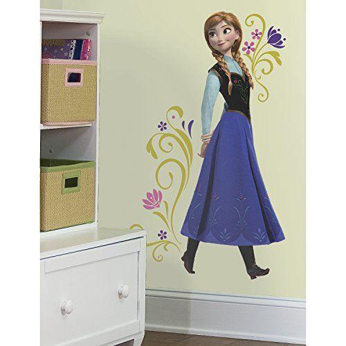 Luxury Disney Frozen Die Eisk nigin V llig unverfroren Anna Riesen Wandsticker Disney http