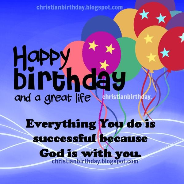 Happy birthday religious happy birthday a long and great life happy birthday religious happy birthday a long and great life christian card free m4hsunfo