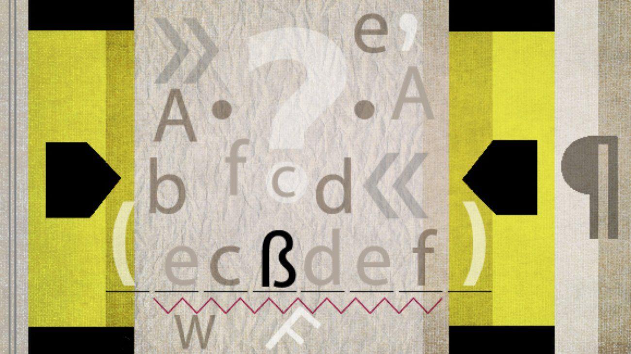 Indirekte Rede Fehlerlesen Teaching, German, Novelty sign