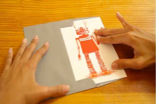 Augmented reality greeting cards bring well wishes to life video augmented reality greeting cards bring well wishes to life via psfk m4hsunfo