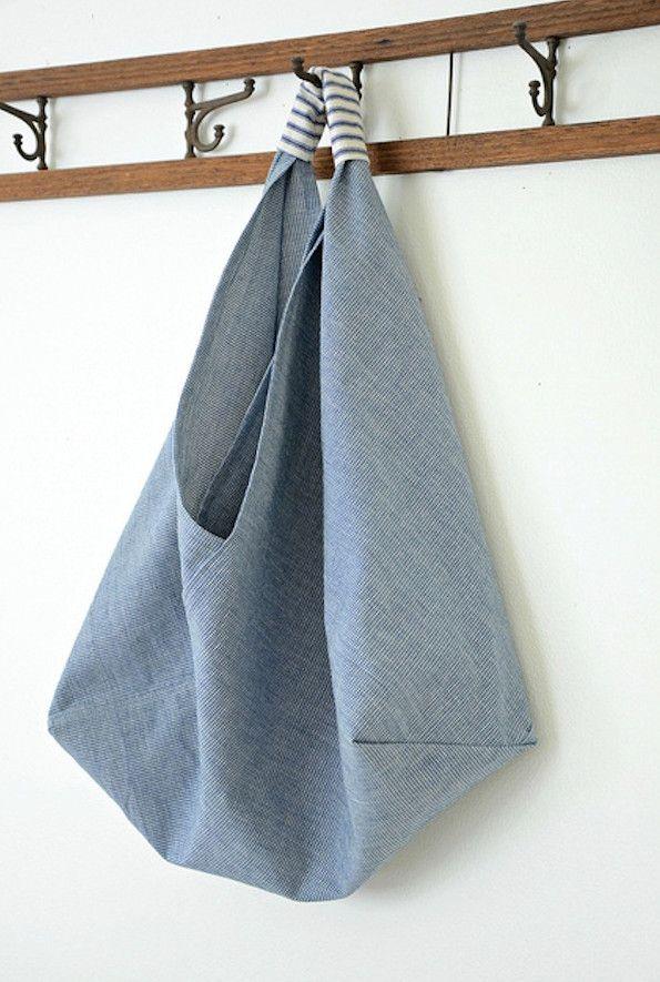 b2d080f13783 Как сшить сумку-торбу (пляжную) своими руками: выкройка с описанием ...