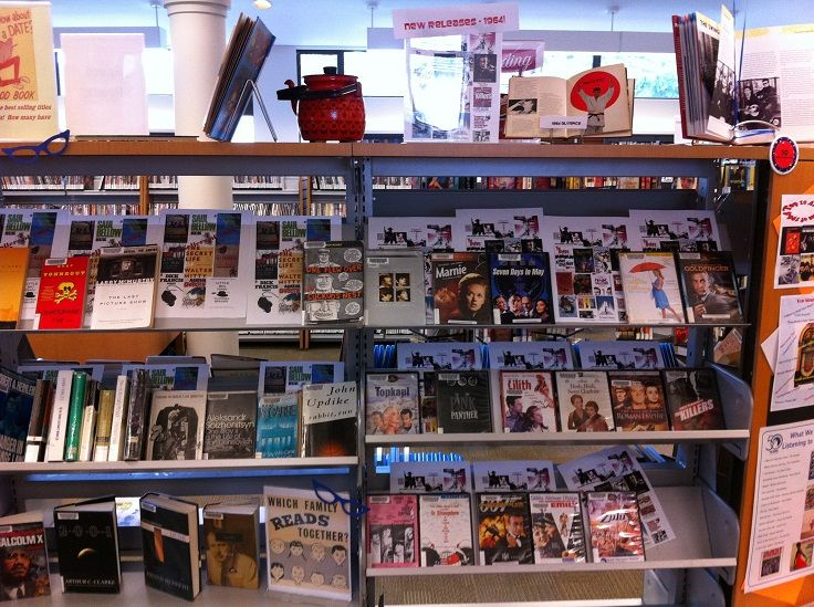 NVDPL Capilano's  60s Display Celebrating our 50th.