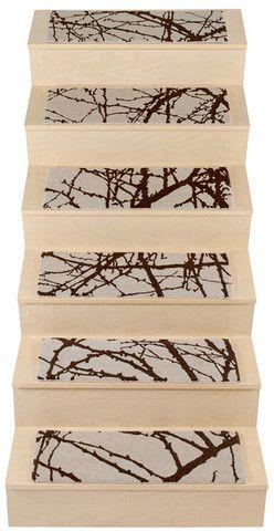 Best Pure Wool Handmade Stair Tread Rugs Barberry Stair 400 x 300