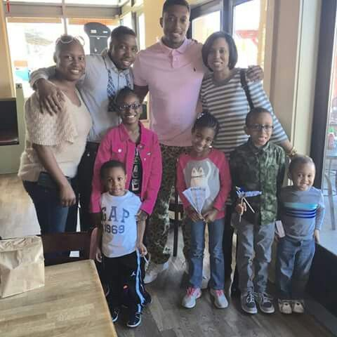 Lecrae and family after Sunday services    Lecrae   Song artists